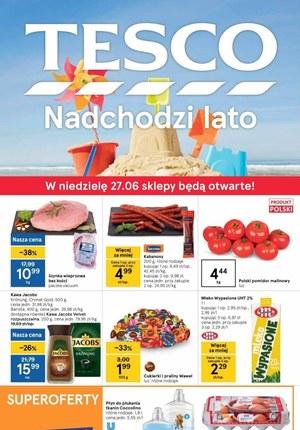 Gazetka promocyjna Tesco Supermarket - Nadchodzi lato w Tesco Supermarket