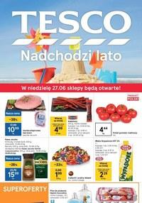 Gazetka promocyjna Tesco Supermarket - Nadchodzi lato w Tesco Supermarket    - ważna do 30-06-2021