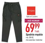 Spodnie męskie Tissaia