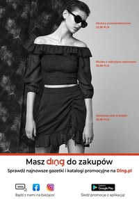 Gazetka promocyjna Sinsay - Czarno-białe w Sinsay