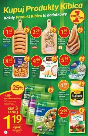 Kupuj produkty Kibica w Delikatesach Centrum