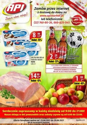 Gazetka promocyjna Api Market - Tanie zakupy w Api Market!