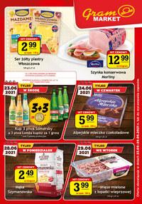 Gazetka promocyjna Gram Market - Świeże produkty w Gram Market - ważna do 29-06-2021