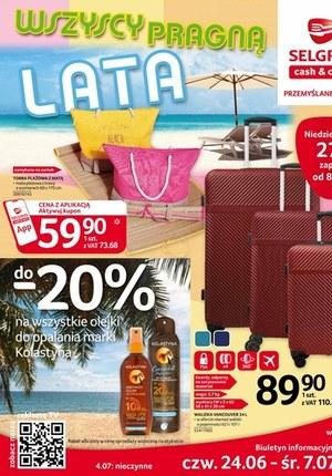 Gazetka promocyjna Selgros Cash&Carry - Selgros - katalog urlop
