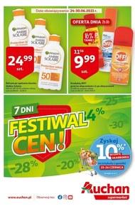 Festiwal cen w Auchan Supermarket