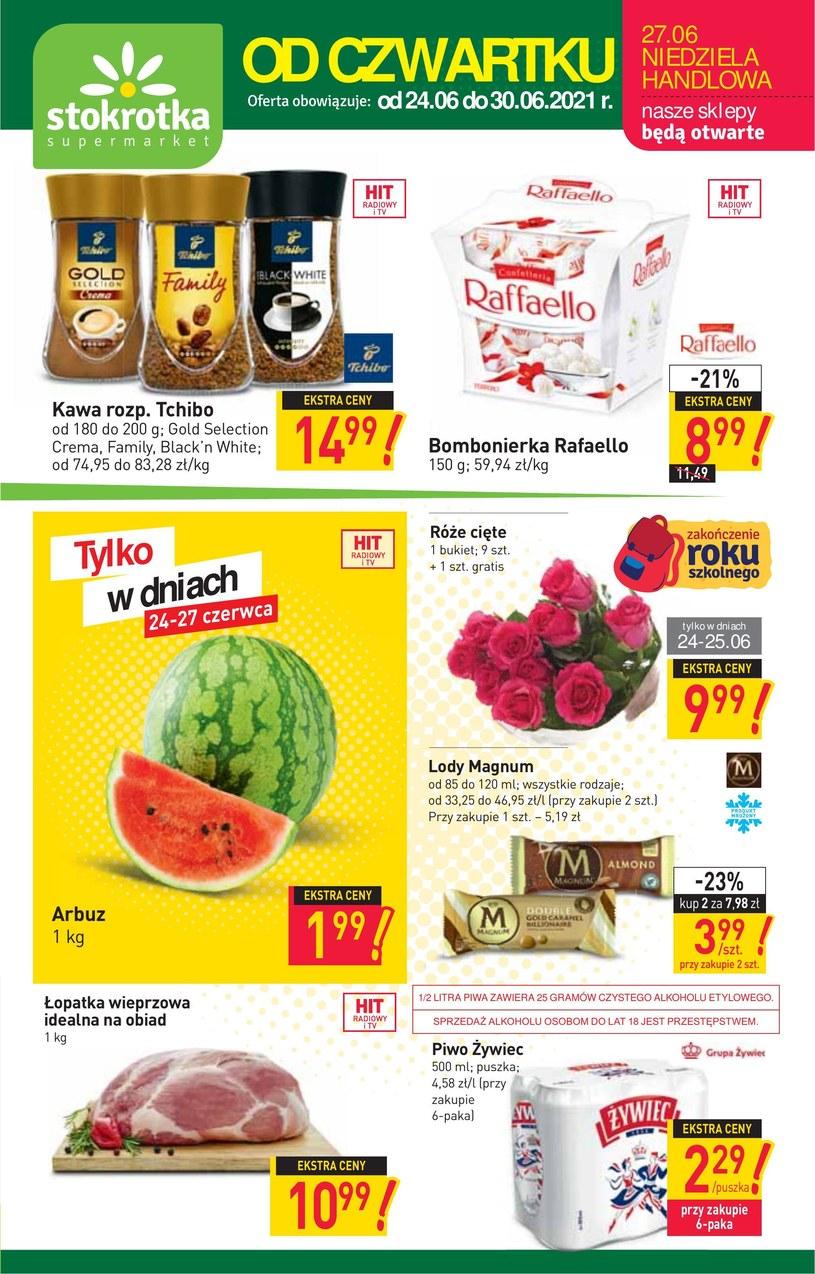 Gazetka promocyjna Stokrotka Supermarket - ważna od 24. 06. 2021 do 30. 06. 2021