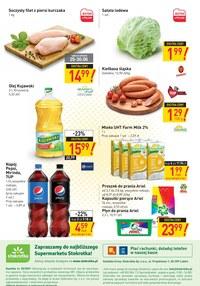 Gazetka promocyjna Stokrotka Supermarket - Zniżki i rabaty w sklepach Stokrotka!