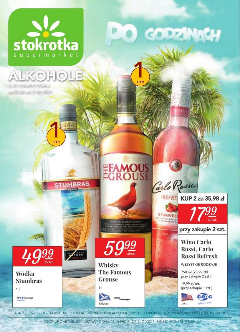 Gazetka promocyjna Stokrotka Supermarket - ważna od 24. 06. 2021 do 21. 07. 2021