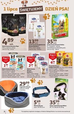 Wszystko dla pupili w Auchan