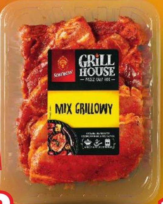 Mix na grilla Grill House niska cena