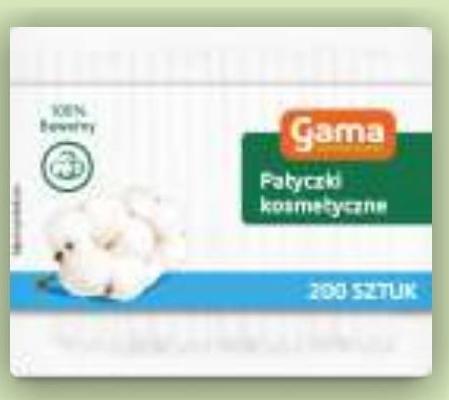 Patyczki higieniczne Gama niska cena