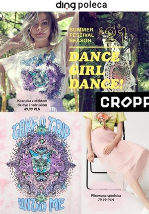 Gazetka promocyjna Cropp Town - Sezon festiwali z Cropp