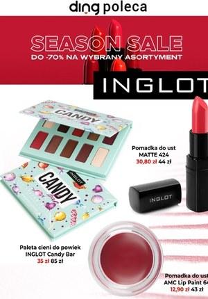 Gazetka promocyjna Inglot - Inglot - wyprzedaż sezonowa