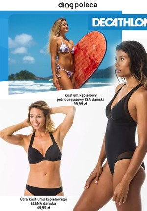 Gazetka promocyjna Decathlon - Stroje kąpielowe w Decathlon