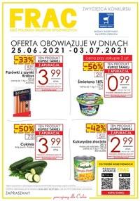 Gazetka promocyjna FRAC - Frac - nowa oferta promocyjna - ważna do 03-07-2021