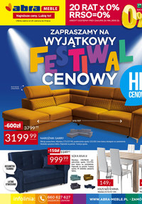 Gazetka promocyjna Abra - Festiwal cenowy w sklepach Abra - ważna do 08-07-2021