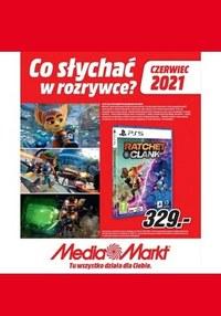 Gazetka promocyjna Media Markt - Co słychać w rozrywce? Media Markt  - ważna do 30-06-2021