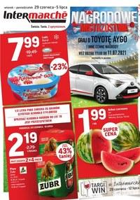 Gazetka promocyjna Intermarche Super - Mistrzowskie promocje w Intermarche - ważna do 05-07-2021