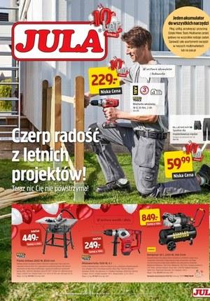 Gazetka promocyjna Jula - Letnie projekty z Jula