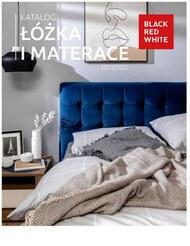 Black red White - katalog łóżka i materace 2021