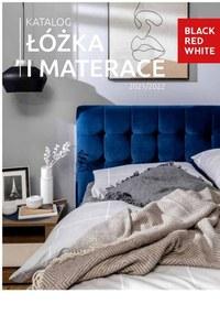 Gazetka promocyjna Black Red White - Black red White - katalog łóżka i materace 2021