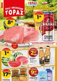 Gazetka promocyjna Topaz - Sprawdź nowe promocje w Topaz! - ważna do 07-07-2021