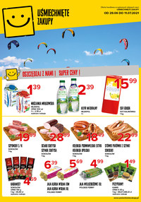 Gazetka promocyjna Uśmiechnięte zakupy - Promocje w sklepach Uśmiechnięte Zakupy - ważna do 11-07-2021