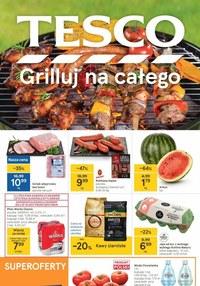Gazetka promocyjna Tesco Supermarket - Grilluj na całego razem z Tesco - ważna do 07-07-2021