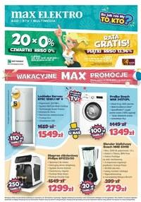Gazetka promocyjna Max Elektro - Lipcowe okazje w Max Elektro