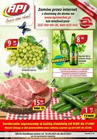 Gazetka promocyjna Api Market - Zawsze udane zakupy w Api Market!   - ważna do 06-07-2021