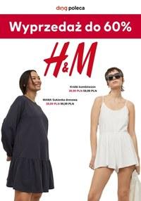 Gazetka promocyjna H&M - Wyprzedaż do 60% w H&M    - ważna do 12-07-2021