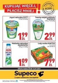 Gazetka promocyjna Supeco - Supeco - kupując więcej, płacisz mniej! - ważna do 12-07-2021