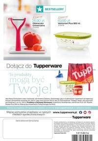 Gazetka promocyjna Tupperware - Duże promocje w Tupperware!