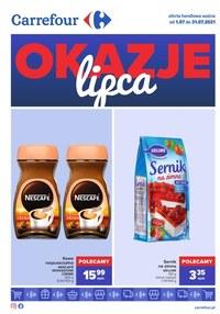 Gazetka promocyjna Carrefour - Carrefour - okazje lipca - ważna do 31-07-2021