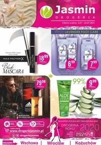 Gazetka promocyjna Jasmin Drogerie - Oferta kosmetyków z Jasmin Drogerie - ważna do 24-07-2021