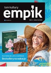 Gazetka promocyjna EMPiK - Bestsellery na wakacje w Empik - ważna do 13-07-2021