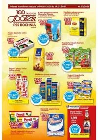 Gazetka promocyjna PSS Bochnia - Artykuły spożywcze w sklepach PSS Bochnia - ważna do 14-07-2021