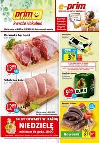 Gazetka promocyjna Prim Market - Świeżo i lokalnie w Prim Market!   - ważna do 07-07-2021