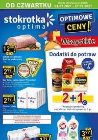 Gazetka promocyjna Stokrotka Optima - Optimowe ceny w Stokrotce!   - ważna do 07-07-2021