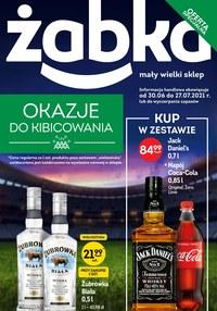 Gazetka promocyjna Żabka - Okazje do kibicowania z Żabką - ważna do 27-07-2021