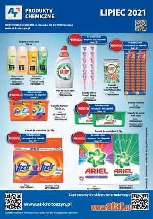 Gazetka promocyjna At - At - produkty chemiczne