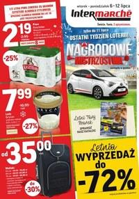 Gazetka promocyjna Intermarche Super - Letnia wyprzedaż w Intermarche - ważna do 12-07-2021