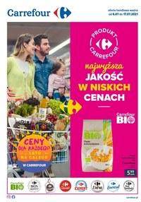 Gazetka promocyjna Carrefour - Najniższa jakość w niskich cenach - Carrefour - ważna do 17-07-2021