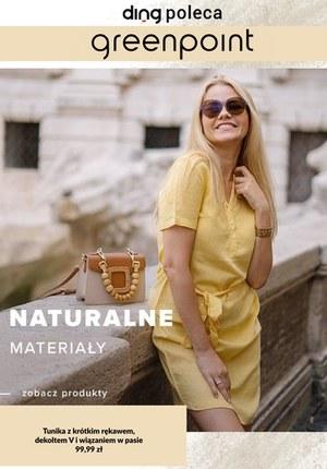 Gazetka promocyjna Greenpoint - Naturalne materiały w Greenpoint