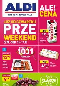 Gazetka promocyjna Aldi - Przeweekend w Aldi!   - ważna do 17-07-2021