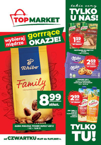 Gazetka promocyjna Top Market - Bliżej i taniej z Top Market!    - ważna do 11-07-2021