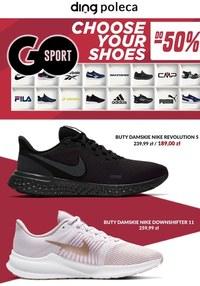 Gazetka promocyjna GO Sport - Wielkie wyprzedaże w Go Sport - ważna do 31-07-2021