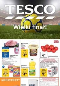 Gazetka promocyjna Tesco Supermarket - Świętuj finał z Tesco - ważna do 14-07-2021