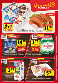 Gazetka promocyjna Gram Market - Kupuj tanio w Gram Market! - ważna do 13-07-2021