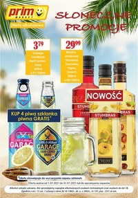 Gazetka promocyjna Prim Market - Oferta alkoholowa Prim Market - ważna do 31-07-2021